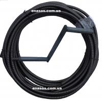 Трос сантехнический диаметром 16 мм, профессиональный, канализационный, вибровал, гибкий вал
