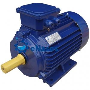 Электродвигатель АИР 132 M2 лапы, 11 кВт, трехфазный, 3000 об/мин