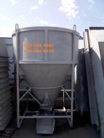 Бункер, бадья для бетона 2 м3 два куба, круглая, загрузка вертикальная