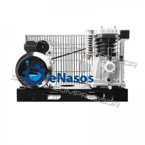 Узел головка+эл.  двигатель, опорная плита SBN-Н2055В (10 атм. 170 л/мин. 1,1 кВт 220 В)