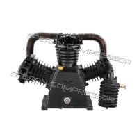 Компрессорная головка, узел компрессорный 2-х ступ. SBN-W3090SH (15 атм. 450 л/мин)